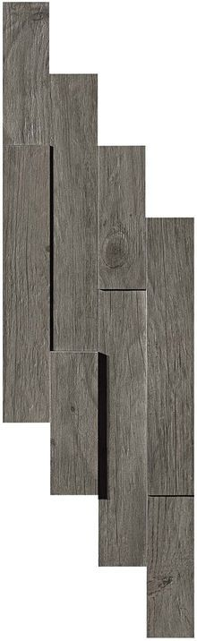 Плитка Axi Grey Timber Brick 3D 20х44