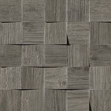 Плитка Axi Grey Timber Mosaico 3D 35х35