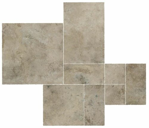 Плитка Aix Cendre Kit Multiformato Tumbled (A04Z) 75x75