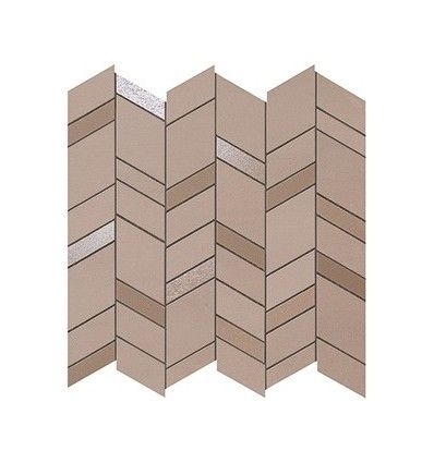 Плитка MEK Rose Mosaico Chevron Wall (9MCR) 30,5х30,5