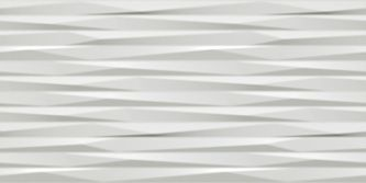 Плитка 3D Wall Design Blade White Matt 40х80