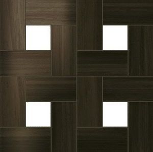 Плитка Aston Wood Dark Oak Mosaic Lap 45х45