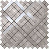 Плитка Marvel Grey Fleury Diagonal Mosaic 30,5х30,5