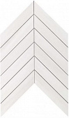 Плитка Marvel Stone Bianco Dolomite Chevron Wall 30,5х25