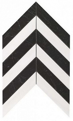 Плитка Marvel Stone Chevron Warm Wall 30,5х25