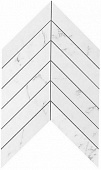 Плитка Marvel Stone Carrara Pure Chevron Wall 30,5х25