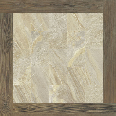 Плитка Magnetique Beige Inserto Root  60x60