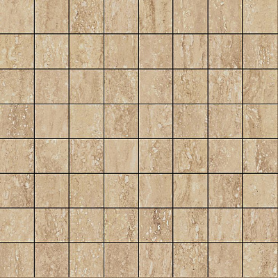 Плитка Travertino Romano Mosaico Lux  29.2x29.2