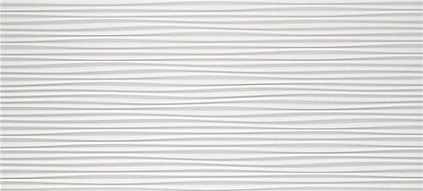 Плитка 3D Wall Design Flows White Matt 50х110