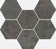 Charme Evo Antracite Mosaico Hexagon