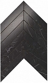 Плитка Marvel Stone Nero Marquina Chevron Wall 30,5х25