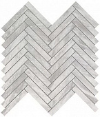 Плитка Marvel Stone Bardiglio Grey Herringbone Wall 30,5х30