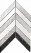 Плитка Marvel Stone Chevron Mix Wall 30,5х25
