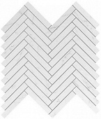 Плитка Marvel Stone Carrara Pure Herringbone Wall 30,5х30